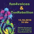 """Der gemischte Chor """"fun4voices"""", mit Chorleiterin Ute Lingerhand, des Netphener Gesangverein 1861 e.V., lädt am 13. Oktober 2018 um 19:00 Uhr zu seinem diesjährigen Konzert […]"""
