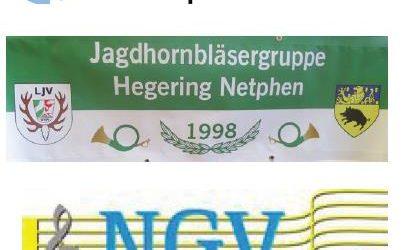 Jagdhornbläser des Hegering Netphen und der Männerchor des Netphener Gesangverein 1861 e.V. gestalteten gemeinsam die Hubertusmesse am3. November in der Kirche St. Cäcilia in Irmgarteichen. […]