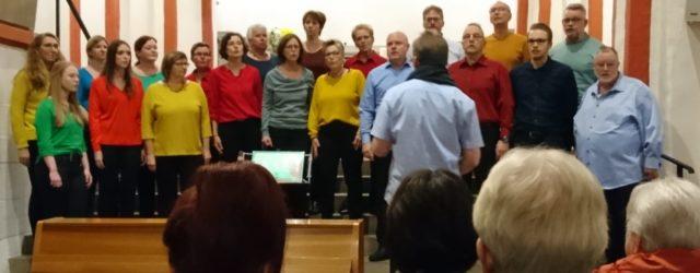 """""""Rockig, Rhytmisch und mit viel Spass beim Singen"""", so wurde der Auftritt unseres Gemischten Chores """"fun4voices"""" in der vollbesetzten Nikolaikirche in Siegen bezeichnet. Presseausschnitt […]"""